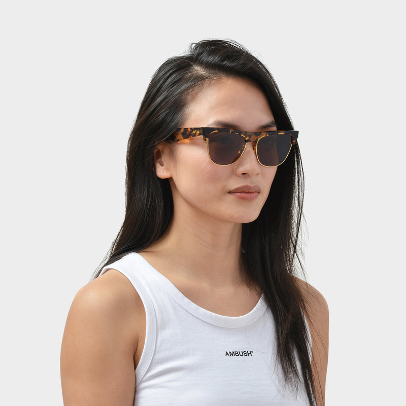 Sunglasses In Havana Acetate