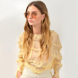 Gemma Sunglasses in Gold