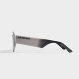 Sunglasses In Grey Acetate