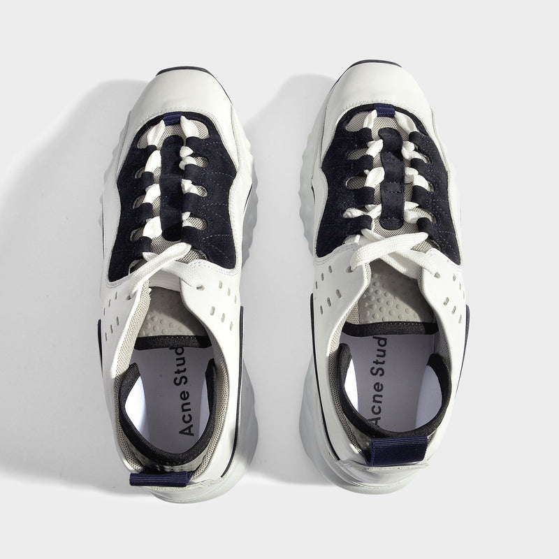 Manhattan Sneakers in White Smooth Calfskin