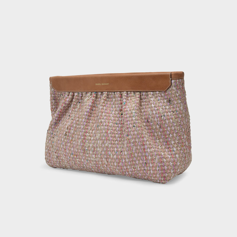 Luz Bag in Light Pink Leather