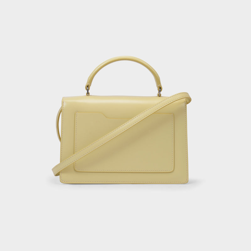 Jitney 1.4 Bag in Yellow Calfskin Leather