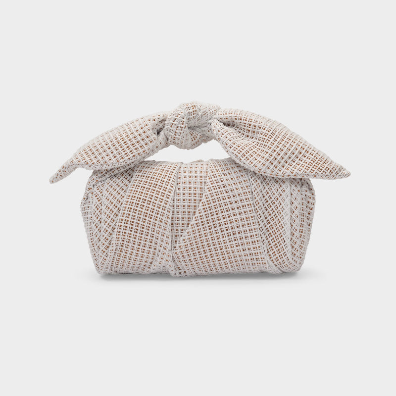 Nane Bag in Ivory Cotton Weave
