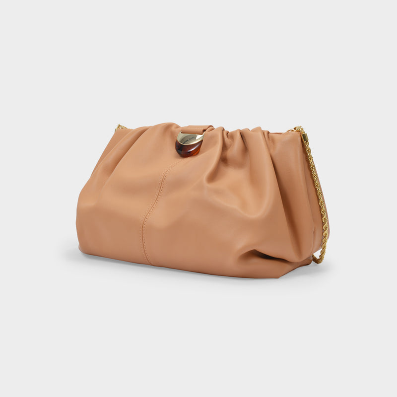 Analeigh Bag in Dune Brown Leather