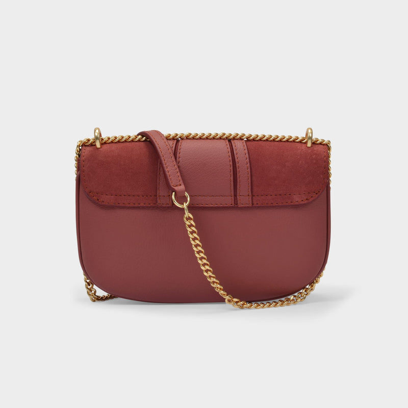 Hana Mini Bag in Fawn Brown Leather