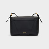 Virtus Satchel in Black Leather