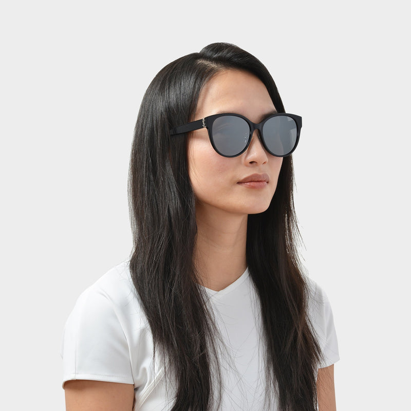 Sunglasses In Black Acetate