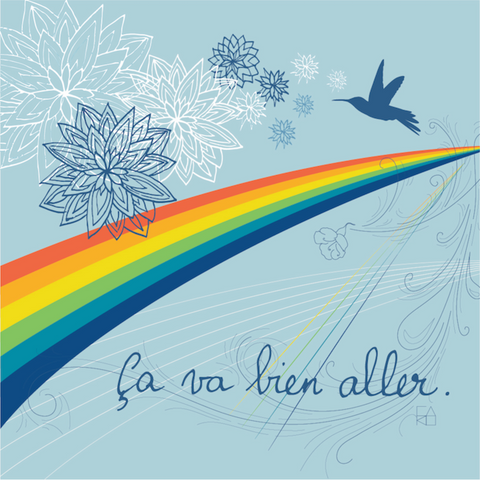 All Shall Be Well. Illustration by Carolina Reis 2021