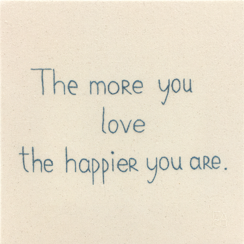 The More You Love