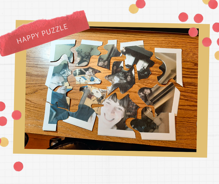 Remember a nice day with a happy puzzle! *Moment immortalisé par un casse-tête*