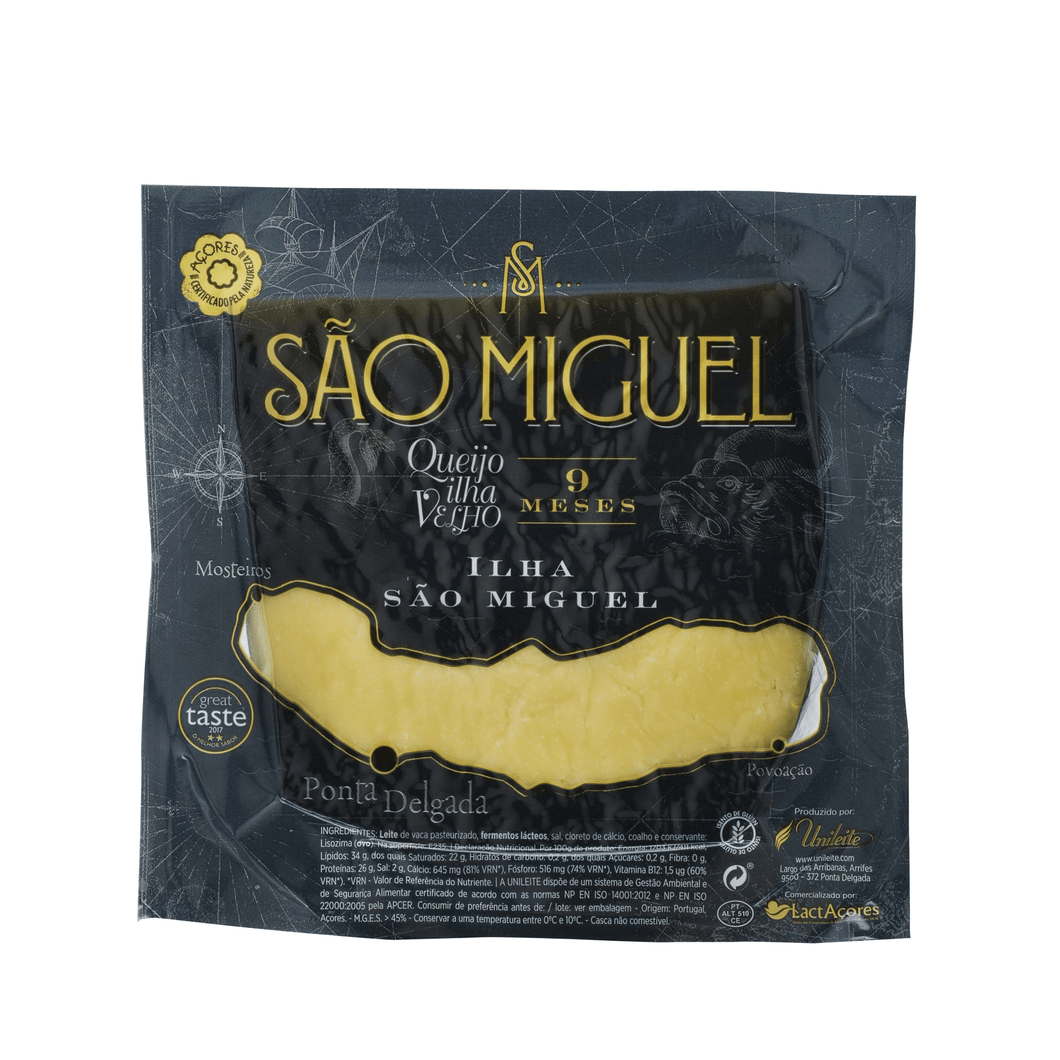 best portuguese food - Saõ Miguel - Cheese 9 months cure - 100% Cow - 300g