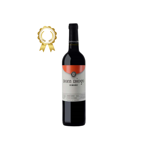 best portuguese food - Quinta Da Raza - Dom Diogo Vinhão 2019 - Red Green Wine - 75cl
