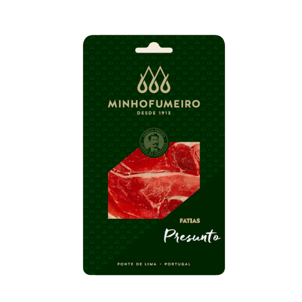 best portuguese food - Minho Fumeiro - Smoked Ham, sliced 100g