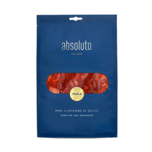"Load image into Gallery viewer, best portuguese food - Absoluto ""Porcus Natura Project"" - Paiola - 3-4 months cured meat from black pig -100% Belota - sliced 100g"