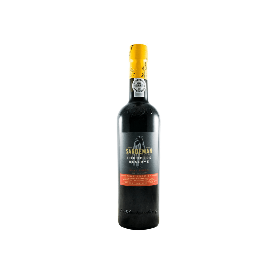 best portuguese food - Sandeman - Founder's Reserve - Port Wine - Ruby - 50 cl