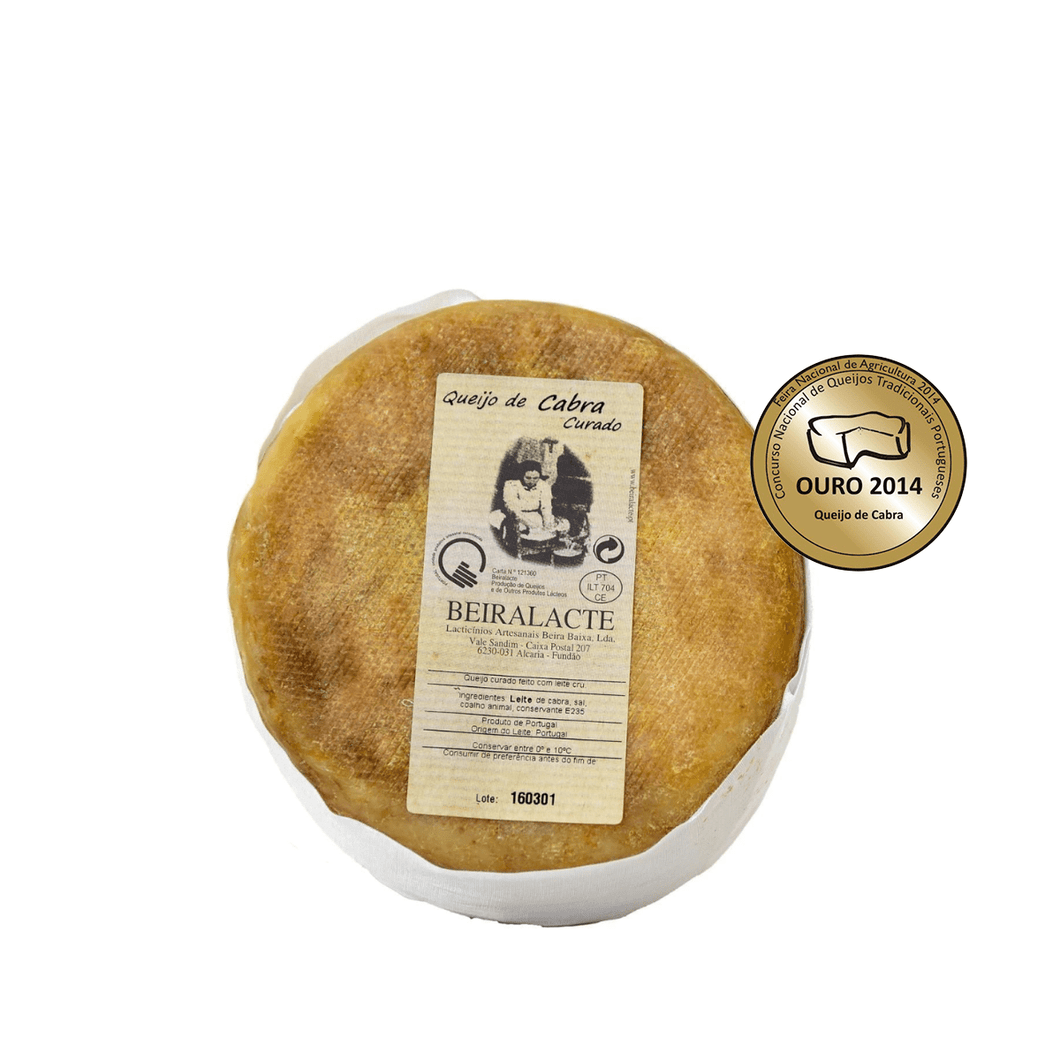 best portuguese food - Beiralacte - Cured Cheese - 100% Goat - 750g