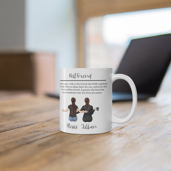 Best Friends Mug - 11 Oz.