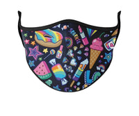 Top Trenz Funfetti Print Mask - Kids 3-7