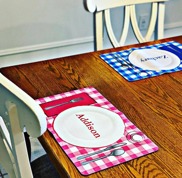"Personalized Placemat - 10"" x 16"""