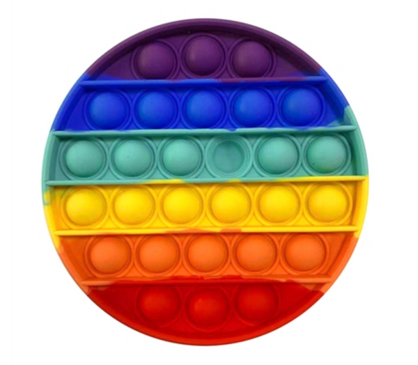 NEW Top Trenz Pop Fidgety - Rainbow Round