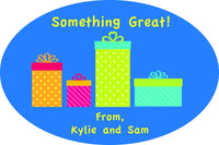 Personalized Gift Stickers- Various Styles