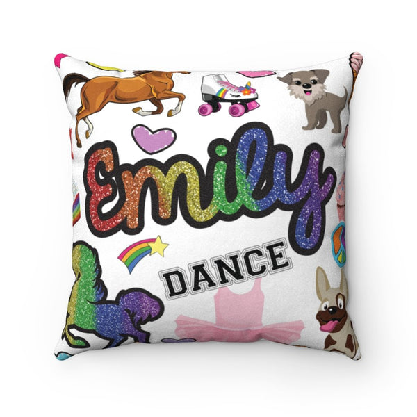Favorite Things Square Pillow