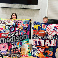 Custom Collage Favorite Things Blanket