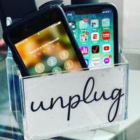 Lucite Remote/Phone Holder