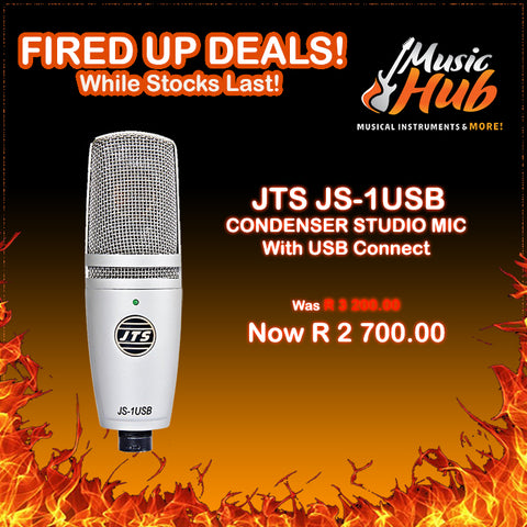 JTS JS-1USB (FIRED UP DEAL!)