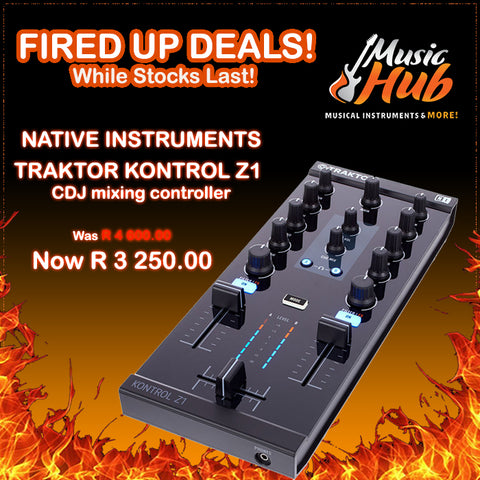 NATIVE INSTRUMENTS TRAKTOR KONTROL Z1 (FIRED UP DEAL!)