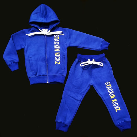 Kidz Blue Candy Sweatsuit