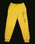 Yellow Signature Sweatpant  *Release date 3/14*