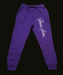 Purple Signature Sweatpant