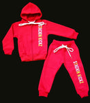 Kidz Red Candy Sweatsuit