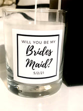 Load image into Gallery viewer, Will You Be My Bridesmaid? Maison Margaux Custom Label Collection