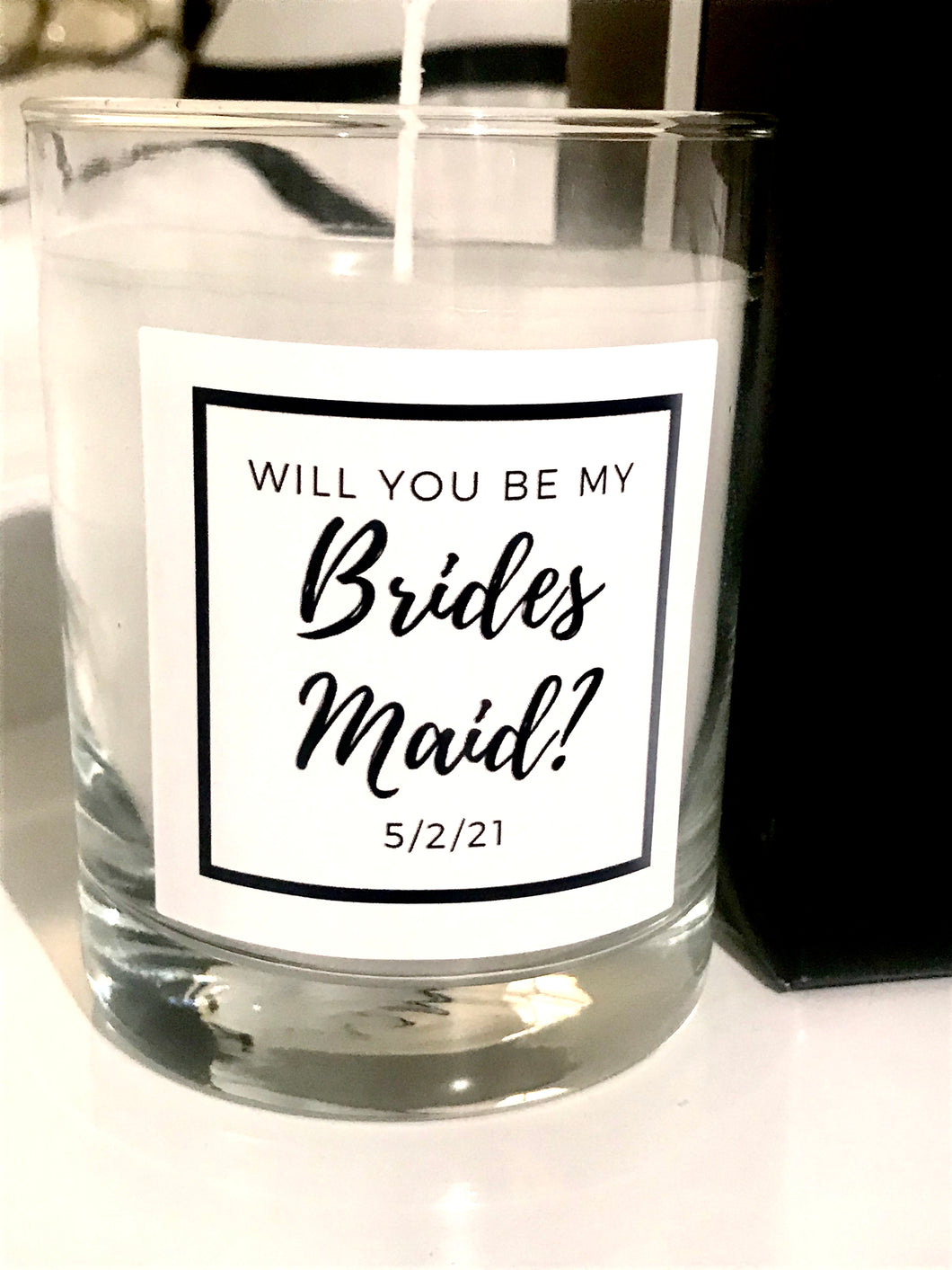 Will You Be My Bridesmaid? Maison Margaux Custom Label Collection