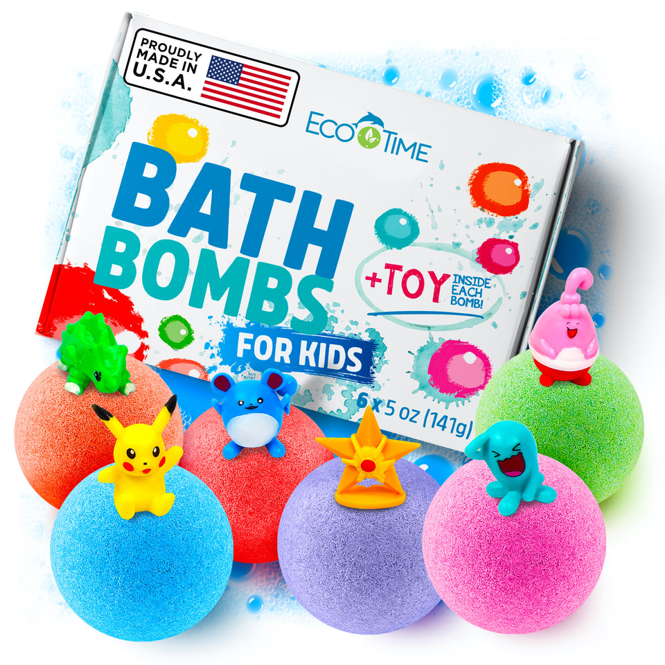 Ammonia Free, best bath bombs, pokemon, pokeball, 5 to 7 Years, toddlers, toddler, spa box toes salt stress butter body shower time, spa set, new york, toys,