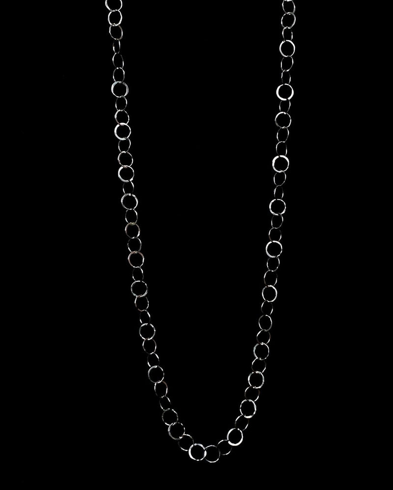 Long Chain Link Necklace