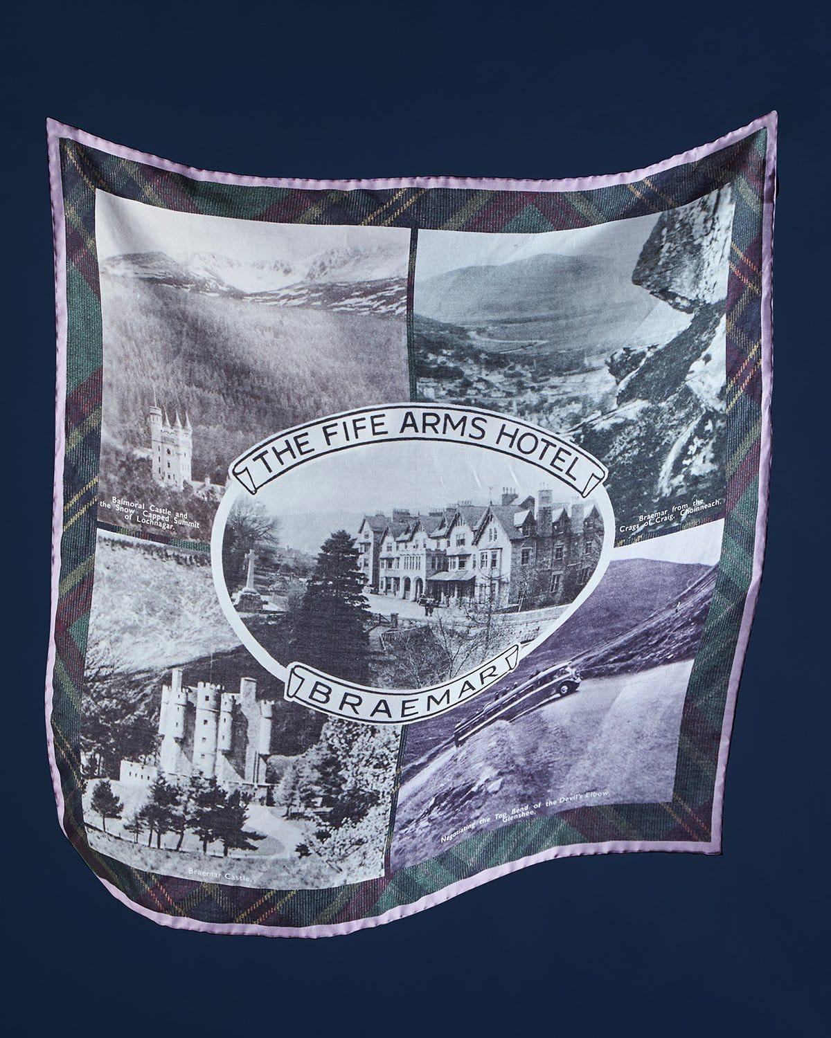 The Fife Arms Antique Bandana by Jane Carr