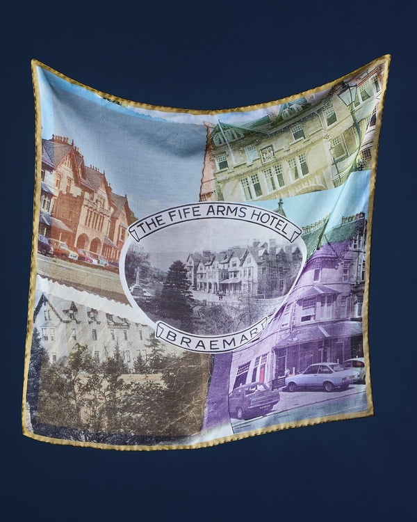 The Fife Arms Hotel Bandana by Jane Carr