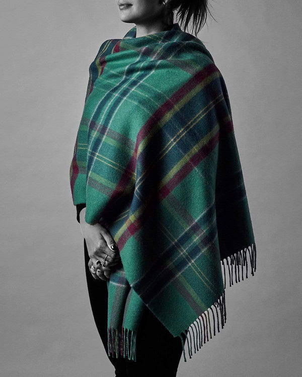 The Fife Arms Tartan Shawl by Araminta Campbell