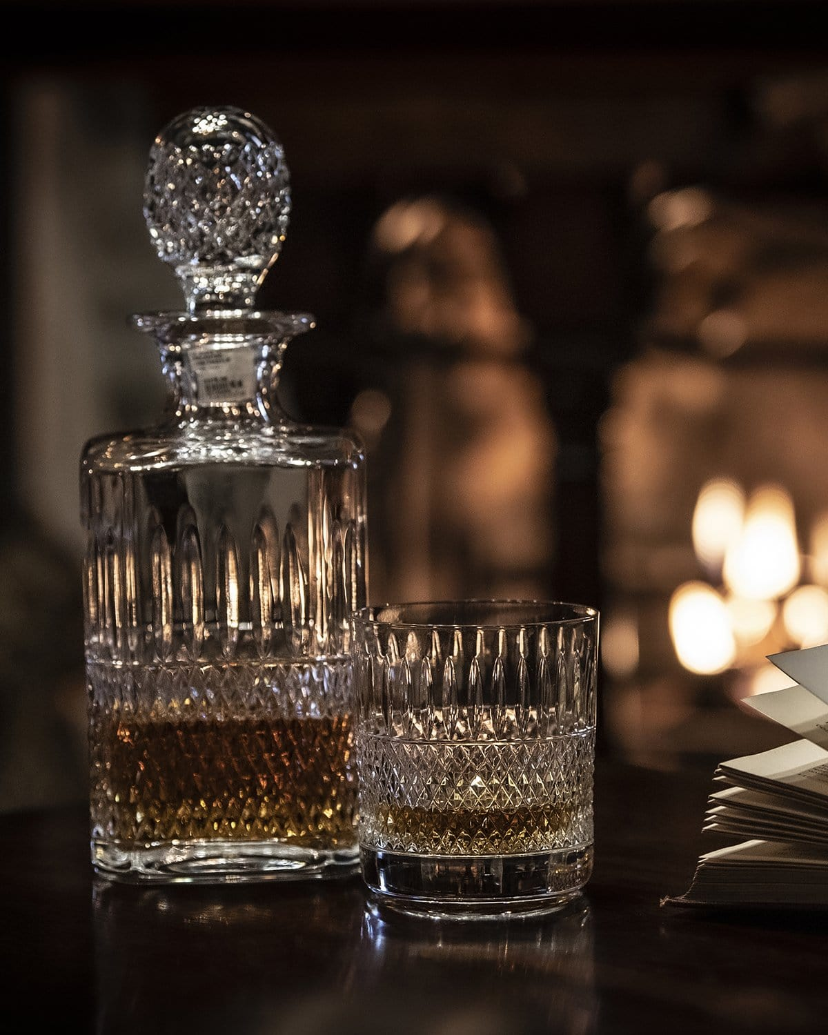 Thistle Cut Decanter