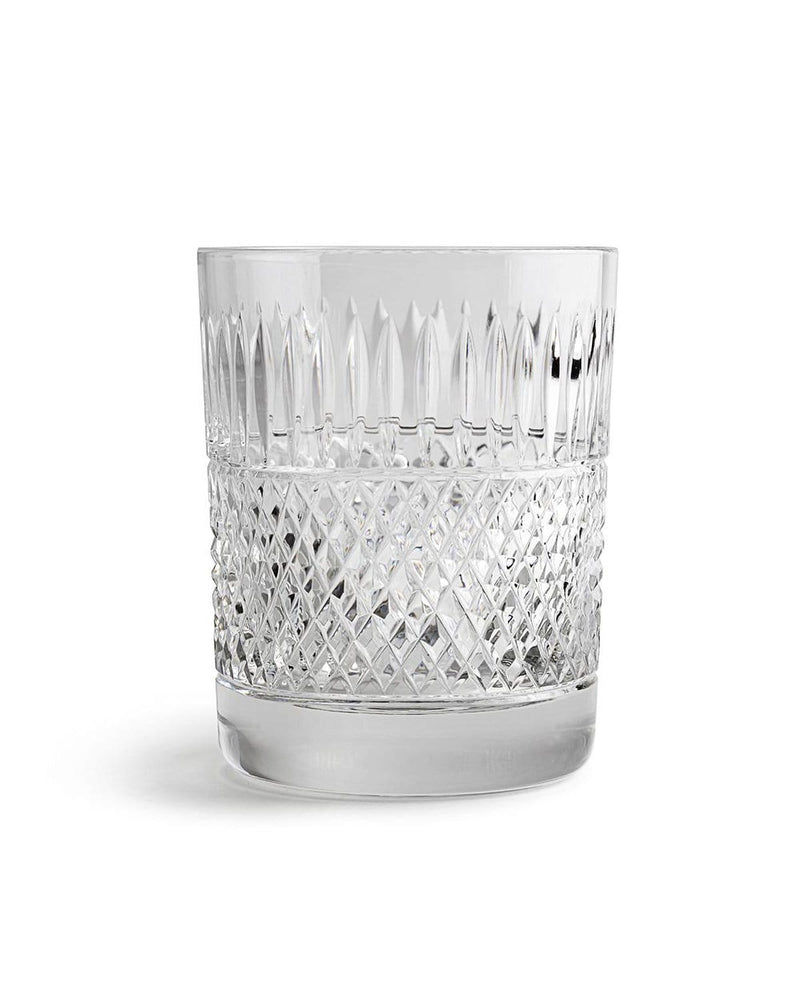 Thistle Cut Whisky Glass