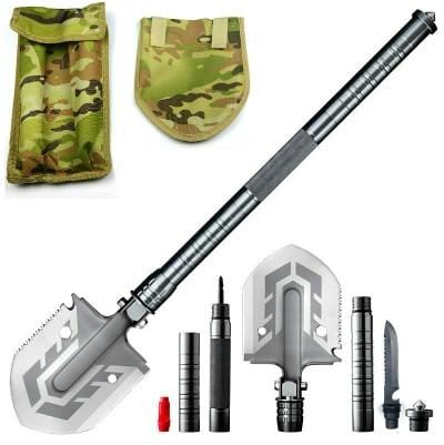 Tactical Folding Camping Shovel - Survivors Outlet