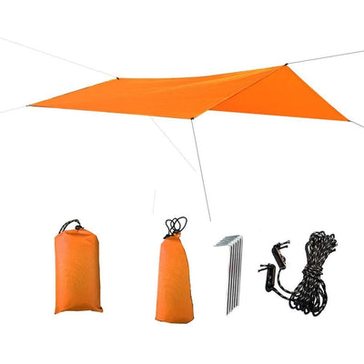 Double Hammock Tent Rain Fly - Cover for Camping - Survivors Outlet