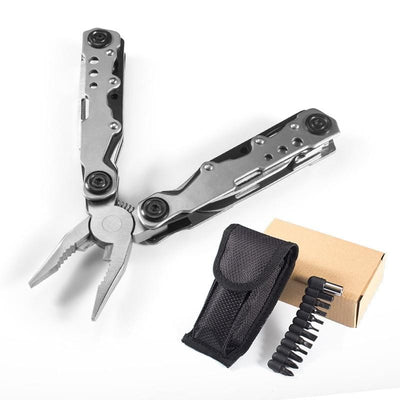 21-in-1 Stainless Steel Multi Tool Pocket Knife with Screwdriver - Survivors Outlet