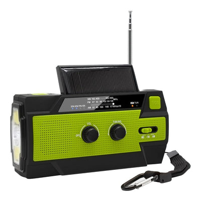 Emergency Solar Crank AM/FM NOAA Radio - Survivors Outlet