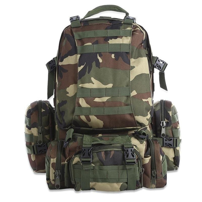 60L Tactical Army Bugout Backpack - Survivors Outlet