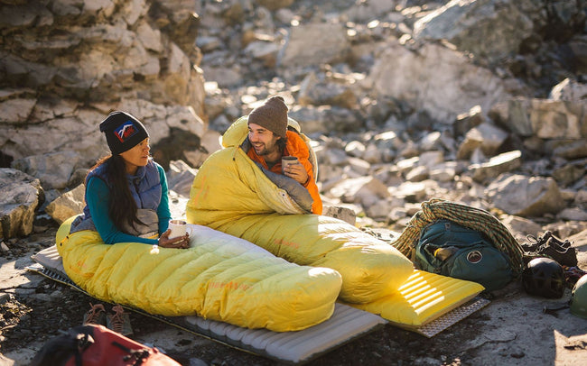 Camping Sleeping Bag - All Seasons Warm & Cool Weather - Survivors Outlet