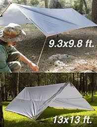Premium Rain Fly Tarp Waterproof Camping Shelter Canopy - Survivors Outlet
